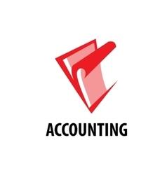 Logo accounting vector