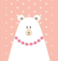 Picture of mama bear vector