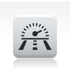 race speed icon vector image