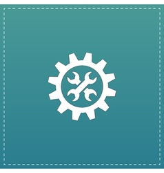 Service flat icon vector