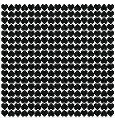 Black heart pixel pattern vector