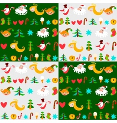 christmas background new years wallpapers vector image