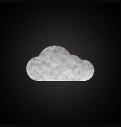 cloud background for your business vector image vector image