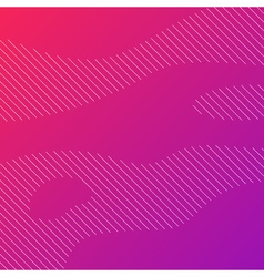 Linear background with purple gradient vector image