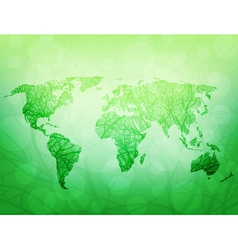 ecological world vector image