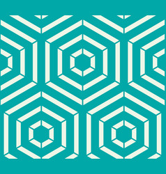Graphic simple ornamental tile repeated pattern vector
