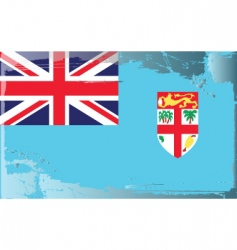 Fiji national flag vector
