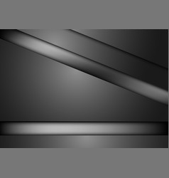 black triangle abstract background vector image