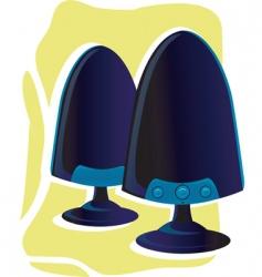 computer speaker vector image