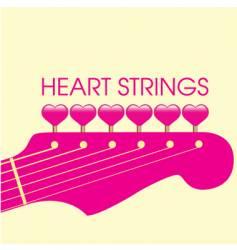 Guitar valentine vector