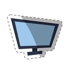 Screen computer cut line vector