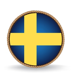 Sweden seal vector