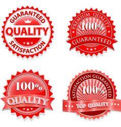 Vintage badge design set vector image vector image