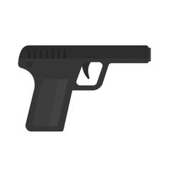 Weapon series vintage wild west army handgun vector image