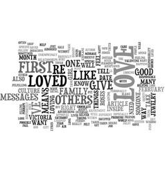 Who do you love text word cloud concept vector