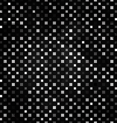 Black squares seamless pattern vector
