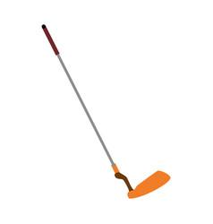 golf club stick vector image