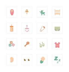 Icon baby vector
