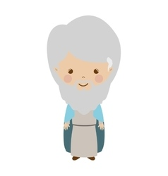 Wise man gaspar cartoon vector