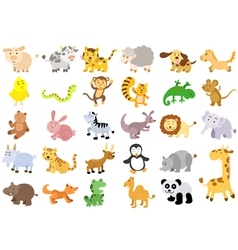 Extra large set of animals vector