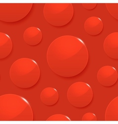 Blood drops on red seamless background vector