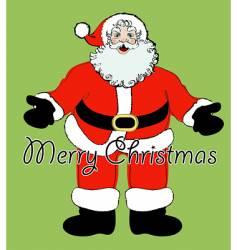 simply Santa vector image