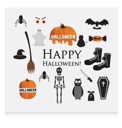 Halloween siluettes vector