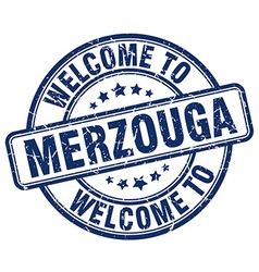 welcome to Merzouga vector image vector image
