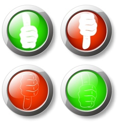 Like unlike button icon vector
