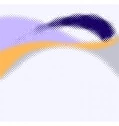 stylish halftone background vector image
