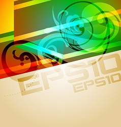 colorful background design vector image