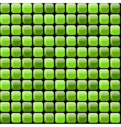 shiny green pile vector image vector image
