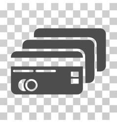 Banking cards icon vector