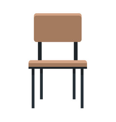 chair furniture seat comfortable image vector image