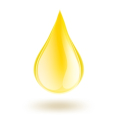 Oil drop vector