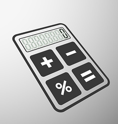 Calculator stock vector