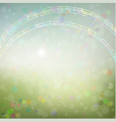 Background with an abstract rainbow vector