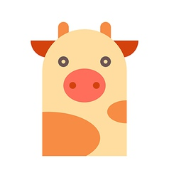 Cow illutration vector