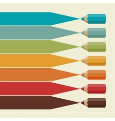 Creative infographics background with colored vector
