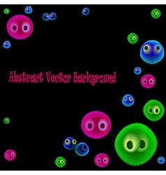 funnyBubbles vector image