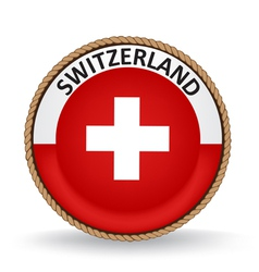 Switzerland seal vector