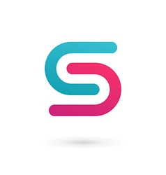 Letter s logo icon design template elements vector