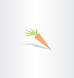 Carrot icon logo vector