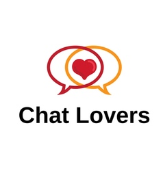 Chat lover design vector