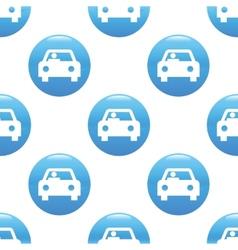 Car sign pattern vector