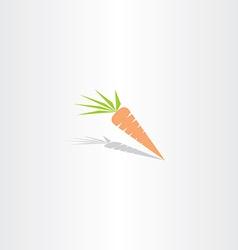 Carrot icon logo vector