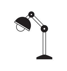 desk lamp icon image vector image