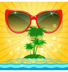 Enjoy your summer vector image vector image