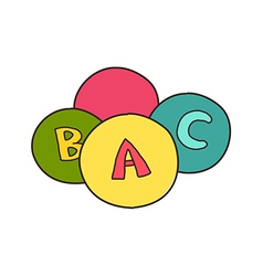 icon ball vector image vector image