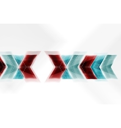 Arrow abstract background vector